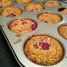 Oatmeal Raspberry Breakfast Muffins - check the website for additional recipes