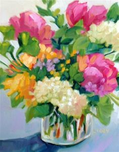 """Daily+Paintworks+-+""""High+Yield""""+-+Original+Fine+Art+for+Sale+-+©+Libby+Anderson"""