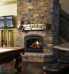stone fire places | Cyprus Air Fireplace Systems - Stone Fireplaces