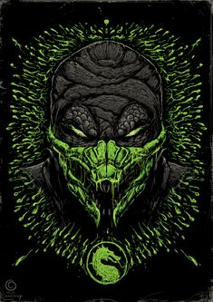 Mortal Kombat Ninjas on Behance Reptile Mortal Kombat, Art Mortal Kombat, Mortal Kombat Scorpion, Mortal Kombat Tattoo, Posters Geek, Mortal Kombat X Wallpapers, Claude Van Damme, Arte Ninja, Les Reptiles