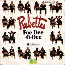 The cover of The Rubettes big hit from 1975 Foe Dee o Dee!