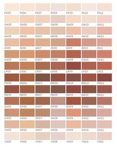 palitra Skin Color Palette, Palette Art, Paint Color Palettes, Natural Hair Highlights, Color Palette Challenge, Wie Zeichnet Man Manga, Digital Art Girl, Color Balance, Aesthetic Vintage