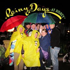 How photographing and creating magic changes in the rain.  Rainy Days at Disneyland and Disney World CapturingMagic.me