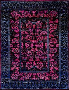 The transitional M-11 rugs from the luxurious Amaluk Collection feature a fresh and vibrant take on classic floral motifs. Hand knotted in India from iridescent Sari silk, these rugs showcase a soft pile finish and average thickness. The bright color palette with contrasts of vivid pink and dark hues adds modern grandeur to the traditional pattern, making this beautiful rug a stunning,  http://www.cyrusrugs.com/cyrus-artisan-item-18312&category_id=272