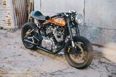 Yamaha XV1000 cafe racer by Sol Invictus Motorcycle Co.