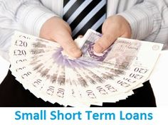 #SmallShortTermLoans arrange hassle free monetary aids. Availing for these financial schemes borrowers don't need to face any documentation and credit checking formalities. They can apply for this cash help with the help of online mode and after approval the approved amount will directly deposited into their bank account within few hours. www.personalshorttermloans.co.uk