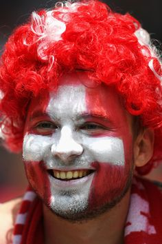 #EURO2016 Switzerland supporter enjoys the atmosphere prior to the UEFA EURO 2016 round of 16 match between Switzerland and Poland at Stade GeoffroyGuichard on...