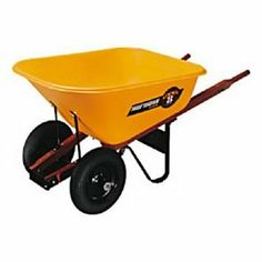 Wheelbarrows - Pin it :-) Follow us :-)) zGardensupply.com is your Garden Supply Gallery ;) CLICK IMAGE TWICE for Pricing and Info :) SEE A LARGER SELECTION of wheelbarrows at http://zgardensupply.com/category/garden-supply-categories/outdoor-carts-bins/wheelbarrows/ - garden, gardening, gardening gear, garden tools, gift ideas, housewarming party gift ideas  -  8CUFT Poly Wheelbarrow « zGardenSupply