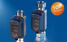 Sensores de fluxo Vortex com display confortável.