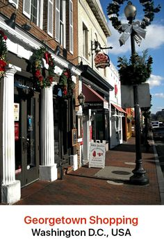 Shop till you drop and fill up your bags with an Aladdin's cave of goodies when you visit the district of Georgetown. This delightful neighborhood in Washington DC boasts an incredible variety of shopping opportunities.
