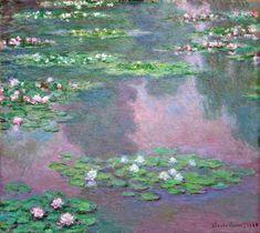 Клод Моне картина Водяные лилии 1905г