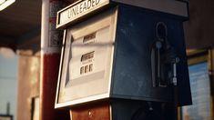 ArtStation - Golden Gasoline - Desert Gas Station - UE4, Joakim Stigsson