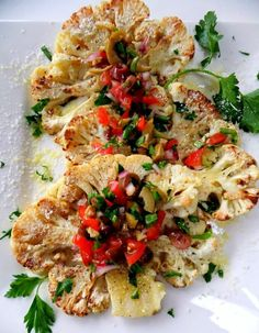 "Cauliflower ""steaks."""