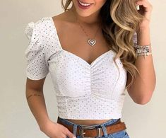 Skirt Pants, Diana, Crochet Top, Bustiers, Crop Tops, Erika, Pretty, Ale, Casual