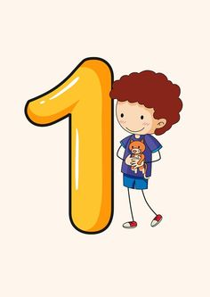 """НУШ. Нумерація першого десятка. Картки """"ЦИФРИ-ДІТИ"""" Numbers Preschool, Math Numbers, Preschool Math, Letters And Numbers, Teaching Math, Kids Math Worksheets, School Labels, Study Techniques, School Clipart"""