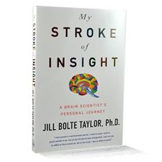 """Touching story by Jill Blote Taylor.   """"On December 10, 1996, Jill Bolte Taylor, a thirty-seven- year-old Harvard-trained brain scientist experienced a massive stroke in the left hemisphere of her brain. As she observed her mind deteriorate to the point that she could not walk, talk, read, write, or recall any of her life-all within four hours-Taylor alternated between the euphoria of the intuitive and kinesthetic right brain, in which she felt a sense of complete well-being and peace, and…"""