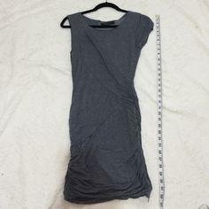 BCBGMAXAZRIA heather grey dress BCBGMAXAZRIA heather grey dress.. Shell: 100% modal. Lining: 92% polyester 8% spandex BCBGMaxAzria Dresses
