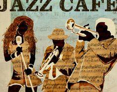 Illustration / music / jazz / cover / poster