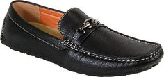 For the guy who loves a casual, stylish and affordable black loafer. Men's Arider Bruce-05 Summer Loafer - Black PU Moc Toe Shoes