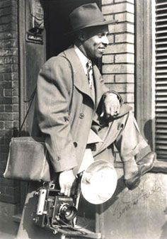 "Charles ""Teenie"" Harris (1908–1998) photographed the events and daily life of African Americans for the Pittsburgh Courier, one of the nation's most influential Black newspapers."