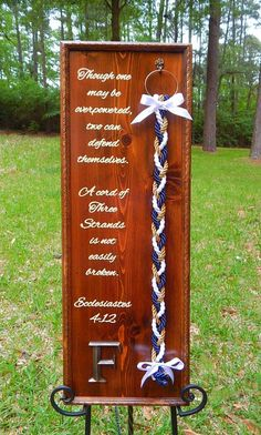 Welcome to UNITY BRAIDS®!This beautiful Rustic Wedding Board makes a wonderful alternative to a unity candle or Unity Sand ceremony! Unity Braids® ceremony, also known as The cord of three strands or The Marriage Braid, is often incorporated. Wedding Ceremony Ideas, Christian Wedding Ceremony, Unity Ceremony, Wedding Reception, Elegant Wedding, Reception Table, Chic Wedding, Fall Wedding, Wedding Catering