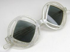 1960s Vintage French Space Age Sunglasses