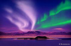 A Auroral Boreal ocorre com maior frequência na região do Círculo Polar Ártico