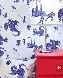 Ere-be-Dragons Blue & Blue från PaperBoy