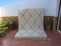 Moroccan Berber Rug, Hallway Runner, Beni Ourain, Wool Carpet, Decoration, The 100, Interior Decorating, Rugs, Handmade