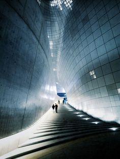 Futuristic Architecture, Zaha Hadid's Dongdaemun Design Plaza Opens In Seoul, South Korea