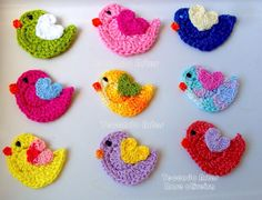 Weaving Arts in Crochet: Birdies Crochet