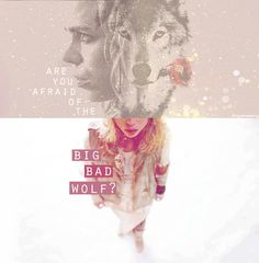 Me gusta | Tumblr. Are you afraid of the Big Bad Wolf?. Doctor Who. General Doctor, Doctor Shows, I Am Bad, Big Bad Wolf, Rose Tyler, Just Run, How To Run Faster, Best Tv Shows, Losing Her