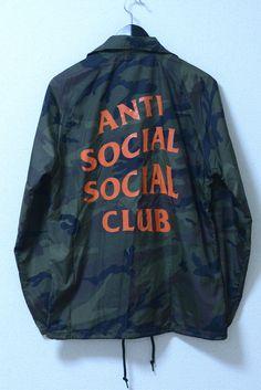 ANTI SOCIAL SOCIAL CLUB Camo Coach Jacket25,000円(内税)