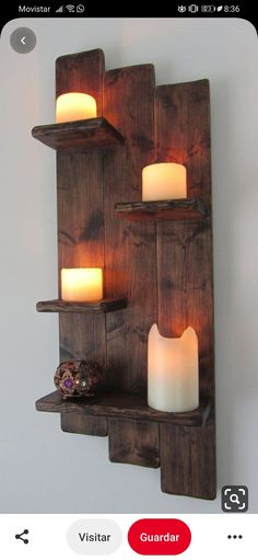 82 cm high shabby chic rustic old wood 4 tier floating .- 82 cm high shabby chic rustic old wood 4 tier floating Wooden Pallet Projects, Diy Pallet Furniture, Woodworking Projects Diy, Wooden Pallet Furniture, Woodworking Wood, Furniture Decor, Furniture Design, Handmade Home Decor, Diy Home Decor