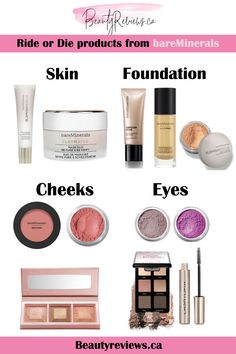 best of bareMinerals - all of the cult-favorite Bare Minerals makeup products! Such an underrated makeup brand with so many beautiful products. Lots of great gift ideas too! Best Eyeshadow, Makeup Eyeshadow, Eyeliner, Eyebrow Makeup, Bare Minerals Makeup, Makeup For Older Women, Beauty Cream, Makeup Trends, Makeup Tips