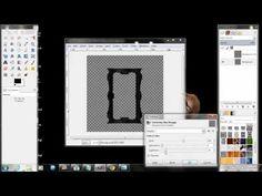 Gothic Frame Tutorial ~GIMP