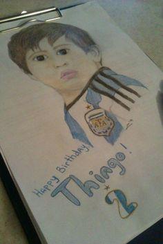 Thiago Messi:3 #Thiago #Messi #Cute #art