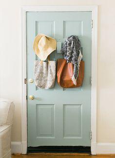 mint interior door | Ashley Bosnick