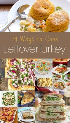 11 ways to use up all that leftover Turkey after #Thanksgiving