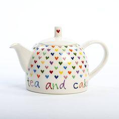 Personalised Love Heart Teapot