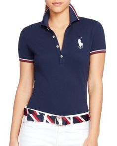 Polo Ralph Lauren Team USA Stretch Polo Shirt | Bloomingdale\u0027s