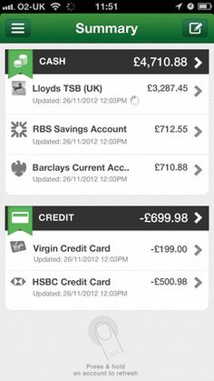 OnTrees new look and account update feature, Feb 2013