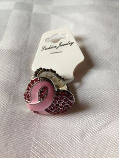Breast cancer awareness ring $13.00
