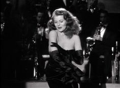 The glove striptease in Gilda