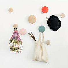 The Dots coat hooks by Muuto.