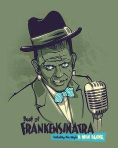 Odd Illustrations That Make You Smile Draco, Rockabilly, Horror Monsters, Scary Monsters, Frankenstein's Monster, Creepy Clown, Bride Of Frankenstein, Music Artwork, Classic Monsters