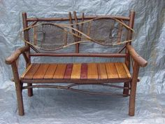 Rustic Outdoor Furniture | Rustic Furniture on Adirondack Rustic Furniture Custom Made Adirondack ...