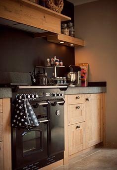 Binnenkijken bij Geert & Margreet / modern country #kitchen