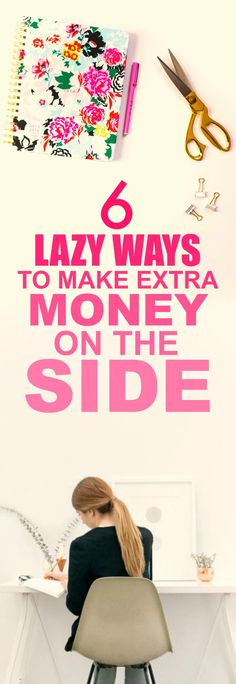 These 6 easy ways to make extra money on the side are THE BEST! I'm so happy I found this GREAT post! I've already tried one of them and I'm already making A TON of money each month! I'm SO pinning for later!