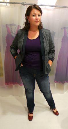 DYANNE+, dyanne beekman, spijkerbroek, grote maten mode